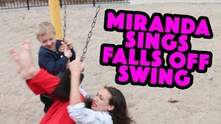 Miranda Sings Falls Off Swing
