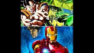 DRAGONBALL SUPER BROLY MOVIE TRAILER 3 REVIEW+IRON MAN ANIME REVIEW