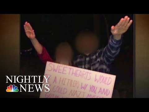 Outrage Over High School Dance Invitation Using Nazi Salute | NBC Nightly News