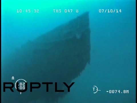 DISCOVERY: WW1 submarine found off Crimea coast