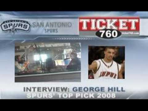George Hill Interview Video