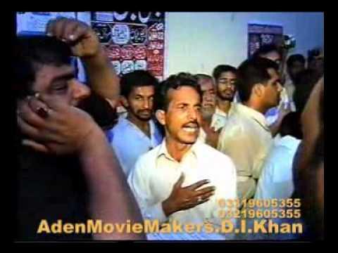 D.i.khan Bawa Sibtain Shah Noha rahwar Abbas A.s Dey Sar Koon video