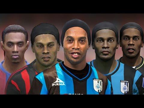 Ronaldinho From FIFA 04 to 15