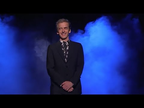 Peter Capaldi gets a standing ovation in Sydney - Doctor Who: The World Tour - #DWWorldTour
