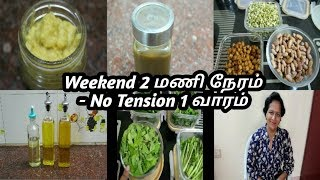 Time saving kitchen tips for Tension free mornings - Weekend Routine