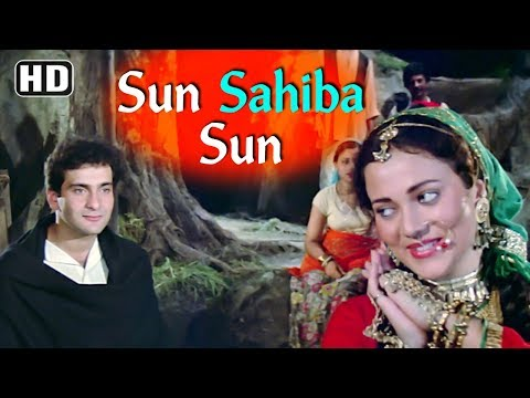 Sun Saiba Sun - Mandakini - Rajiv Kapoor - Ram Teri Ganga Maili - Bollywood Hit Love Songs [HD]