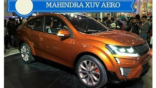 Mahindra XUV Aero Coupe Concept Showcased at 2016 Auto Expo