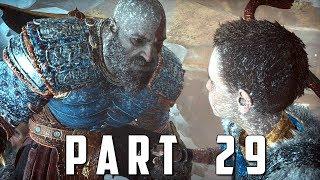 GOD OF WAR Walkthrough Gameplay Part 29 - THE HAMMER (God of War 4)