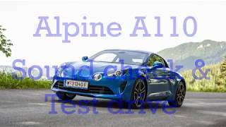 Alpine A110 | soundcheck [4K]