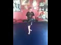 Richard Batin training Brendan Miller Muay Thai