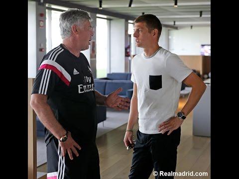 Presentación de Toni Kroos como nuevo jugador del Real Madrid