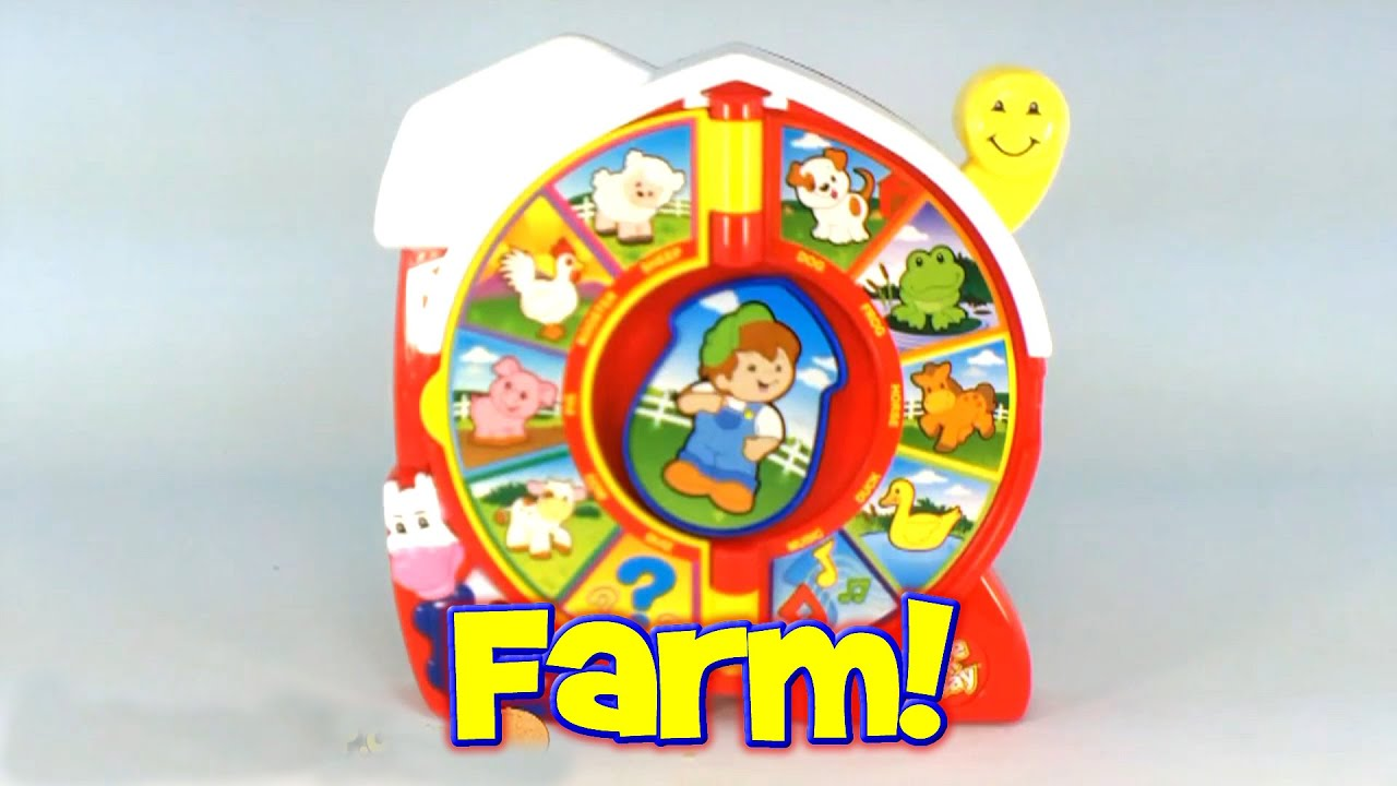 Fisher-Price Classic Farmer Says See N Say, 2003 Mattel Toys B7593 - YouTube