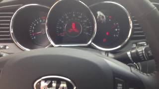 Kia Optima 2012 with aftermarket double din radio