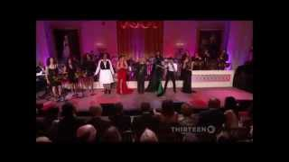 Ariana Grande, Patti LaBelle & Janelle Monáe performs ''Proud Mary'' at the Women of Soul HD
