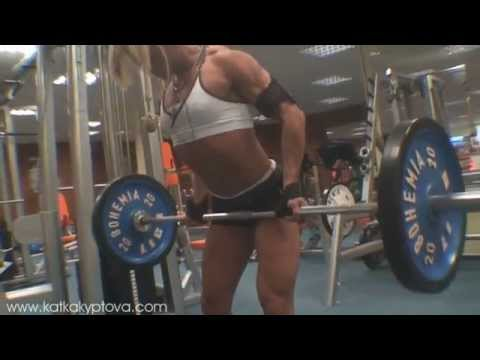Lats workout before Arnold Classic 2010