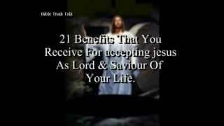 21 benefits that you receive as a Christian. (Christian education)