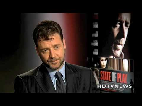 RUSSELL CROWE INTERVIEW -STATE OF PLAY- RED CARPET + KEVIN McDONALD