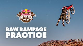 First Practice Session at Red Bull Rampage 2019