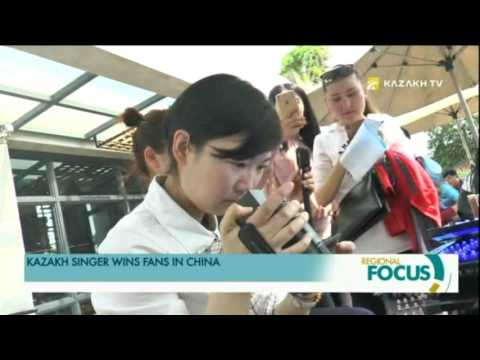 KAZAKH SINGER WINS FANS IN CHINA