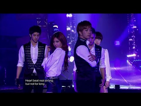 【TVPP】T-ara - Black Cat (with MBLAQ), 티아라 - 블랙 캣 (with 엠블랙) @ 2011 KMF Live