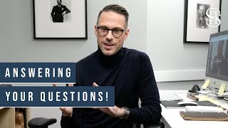 Men's Style And Watches Q&A | Ask Me Anything!! (Episode 1)