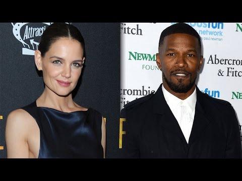 Jamie Foxx Dating Katie Holmes, Is 'Very Happy,' Friend Claudia Jordan Confirms
