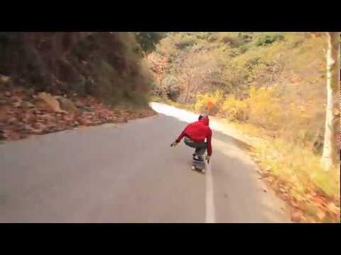 Madrid Downhill - Calvin Staub 2013