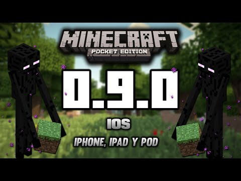 Como Descargar Minecraft PE 0.9.5 para iPhone, iPad, iPod Touch