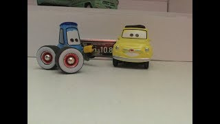 Precision Series Luigi and Guido Cars Review JScars8