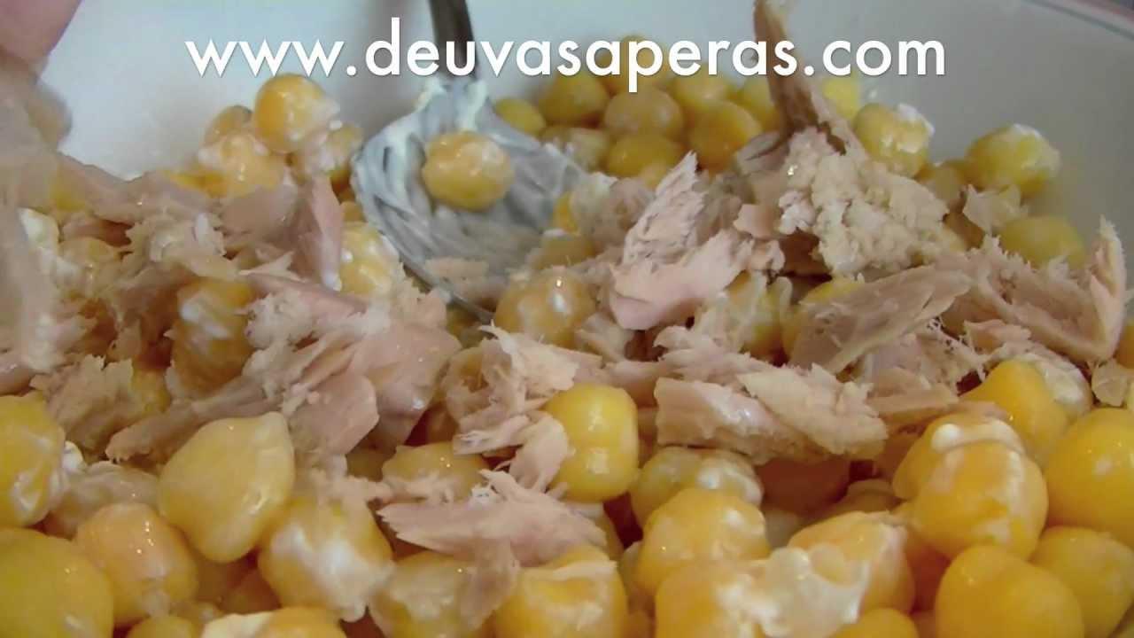 Ensalada de garbanzos recetas de ensaladas para - Ensalada de garbanzos light ...