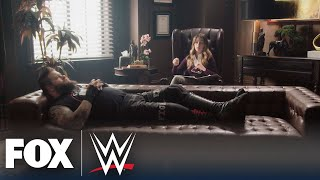 Kevin Owens joins Rachel Bonnetta for 'Wrestling With Your Feelings' | WWE BACKSTAGE | WWE ON FOX