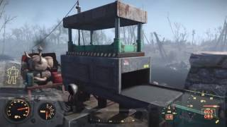 Fallout 4 How to uses a conveyor belt contraption DLC