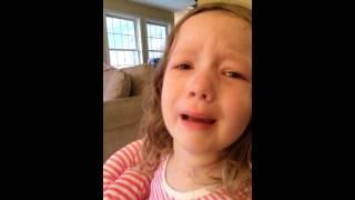 Փոքրիկ աղջիկն անդադար լաց է լինում՝ պարզելով, որ երբեք չի կարող տեսնել ԱՄՆ նախկին նախագահ Ջորջ Վաշինգտոնին