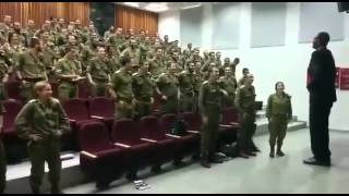 Israeli Soldiers Dancing With Ethiopian Music