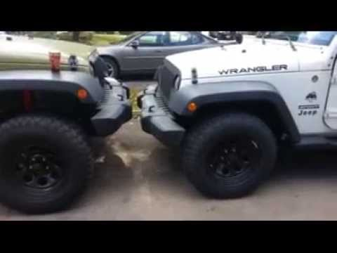 Jeep jk 2.5 inch skyjacker lift - YouTube: autospost.com/cat/jeep-wrangler-2-door-vs-4-door.html