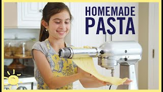KIDS MAKE | Homemade PASTA