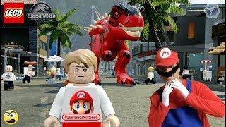 LEGO Jurassic World - Dinossauro do Mario e #QueremosNintendo