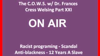 [Live]Frances Cress Welsing - Anti-Blackness & Racist Programming||10 June2014