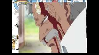One Piece - Dadan beats up Garp
