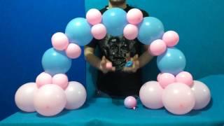Dollar Store Balloon Arch Tutorial!