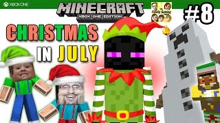 Dad & Son play MINECRAFT XBOX ONE: Christmas In JULY! NEW MINI-ADVENTURE! (FGTEEV #8) #AdamsAppleHit