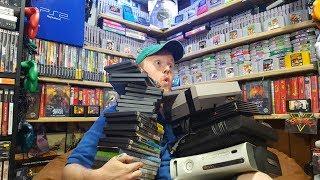 Live Flea Market/Yard Sales Game Hunting! Ep. 7 - Shekeled Me A Rare Nes Game! - Pickups!
