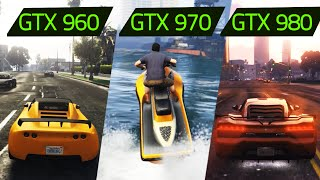 GTA V GTX 960 vs GTX 970 vs GTX 980 GAMEPLAY 1080p@60fps i7 4790