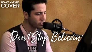 Journey - Don't Stop Believin' (Boyce Avenue piano acoustic cover) on iTunes‬ & Spotify