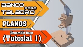Taladro de banco casero tutorial 1 (La base)