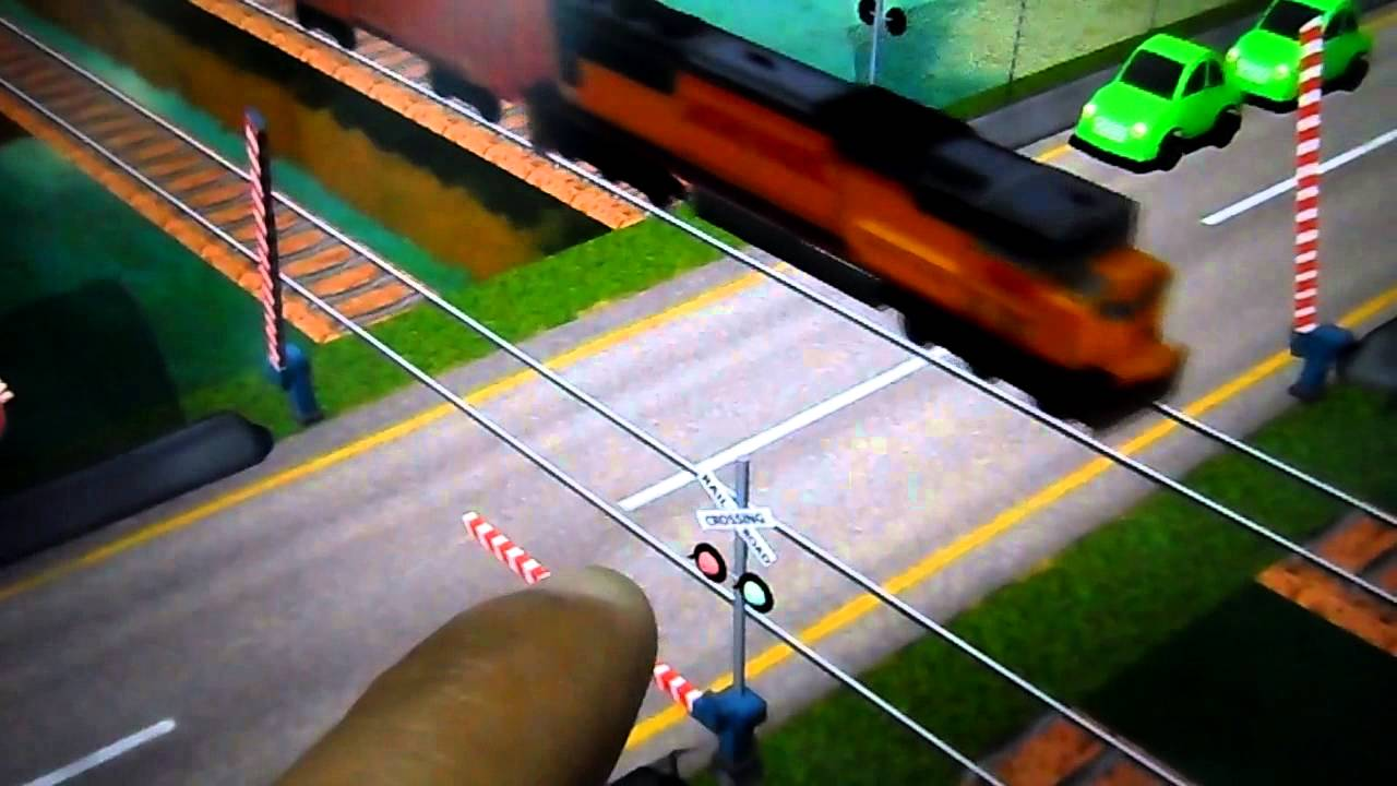 Game Railroad Crossing