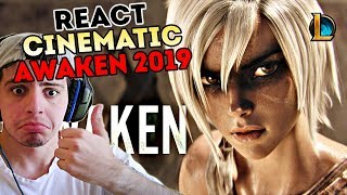 REACT - Awaken (ft. Valerie Broussard) | League of Legends Cinematic - Season 2019