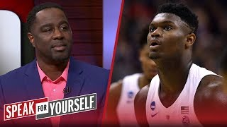 Chris Haynes thinks Zion's a 'can't passover' prospect for the No. 1 pick | NBA | SPEAK FOR YOURSELF