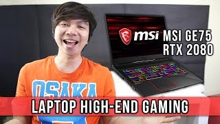 Laptop Gaming High End - MSI GE75 NVIDIA GeForce RTX 2080