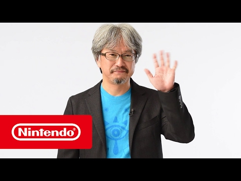The Legend of Zelda: Breath of the Wild - Aankondiging Nederlandse versie door Eiji Aonuma